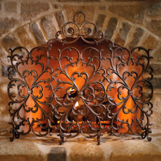 Fireplace Screen Glass Fireplace Screen Iron Fireplace
