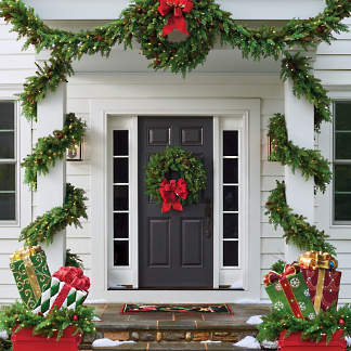 Christmas Wreaths Christmas Garlands Frontgate