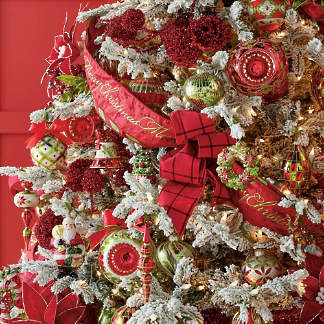 christmas tidings ornament collection