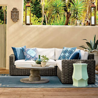 Small Space Patio Furniture And Home Decor Frontgate