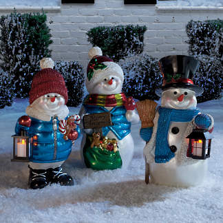 Large Outdoor Christmas Decorations.Large Christmas Decorations Oversized Decorations Frontgate