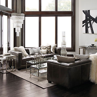 Leather Furniture - Leather Sofas - Leather Chairs | Frontgate