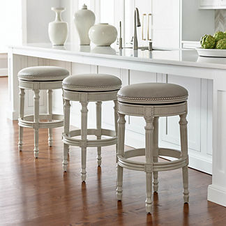 Swell Bar Stools Counter Stools Frontgate Gmtry Best Dining Table And Chair Ideas Images Gmtryco