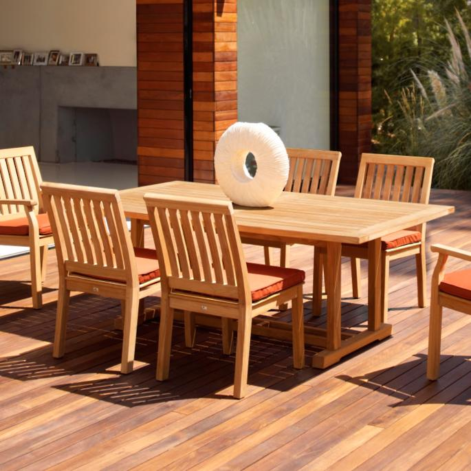Bristol Teak Dining Collection By Gloster Frontgate