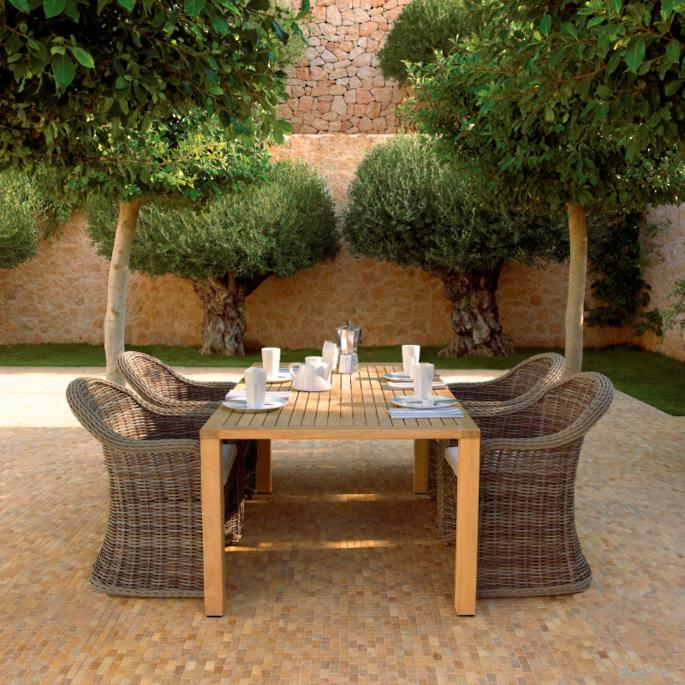 Havana Dining Table: Havana Dining Collection By Gloster