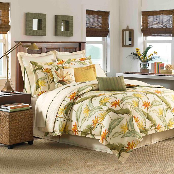 Tommy bahama birds of paradise bedding collection frontgate tommy bahama birds of paradise sheet set gumiabroncs Image collections
