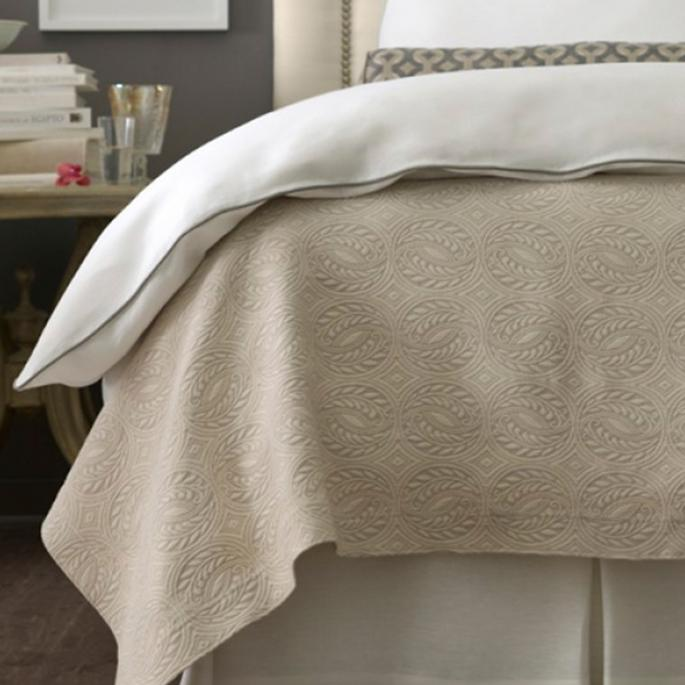 Vienna Matelasse Coverlet By Peacock Alley