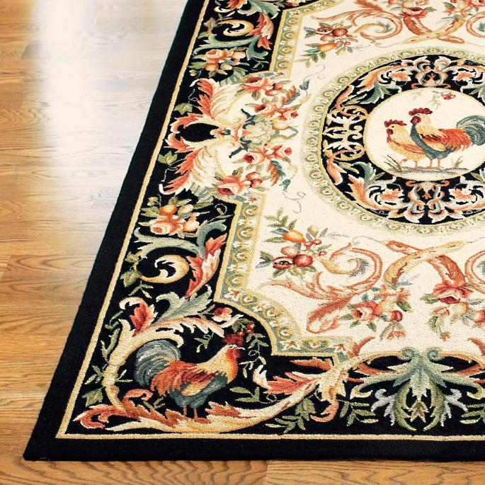 Rooster Easy Care Rug