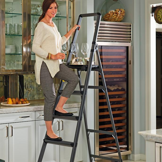 Peachy High Reach Ladders Pabps2019 Chair Design Images Pabps2019Com