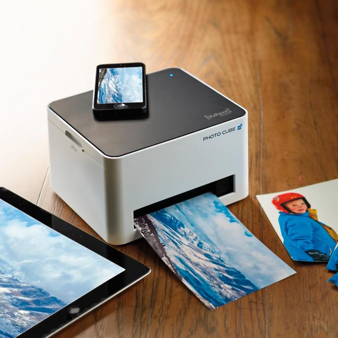 Compact Photo Cube Printer With Wifi Frontgate