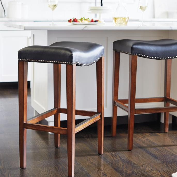 Superb Calais Backless Bar And Counter Stools Machost Co Dining Chair Design Ideas Machostcouk
