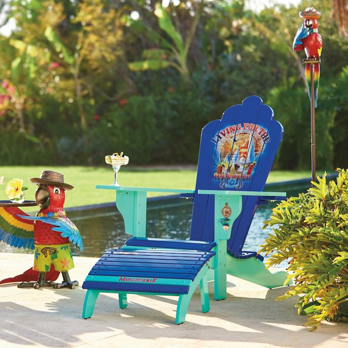 Margaritaville Living For The Weekend Adirondack Chair