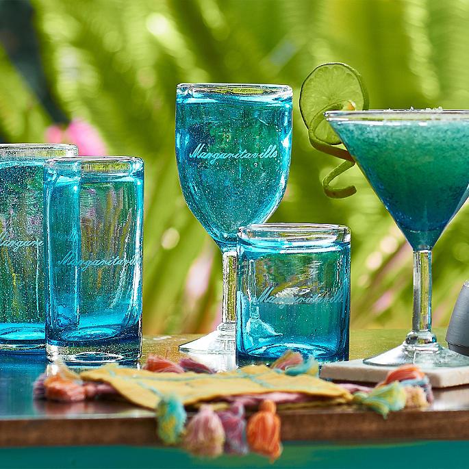 Margaritaville Ocean Breeze Drinkware