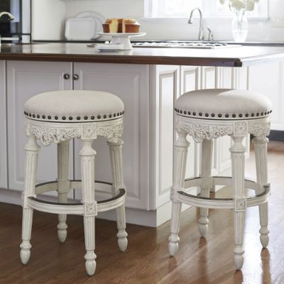 Provencal Grapes Swivel Backless Bar And Counter Stools