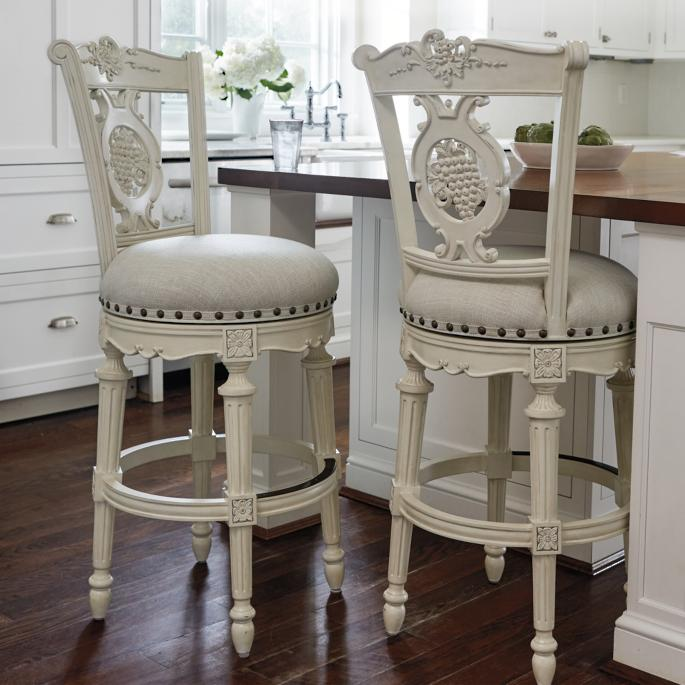 save off 9442a 4310f Provencal Grapes Swivel Bar and Counter Stools