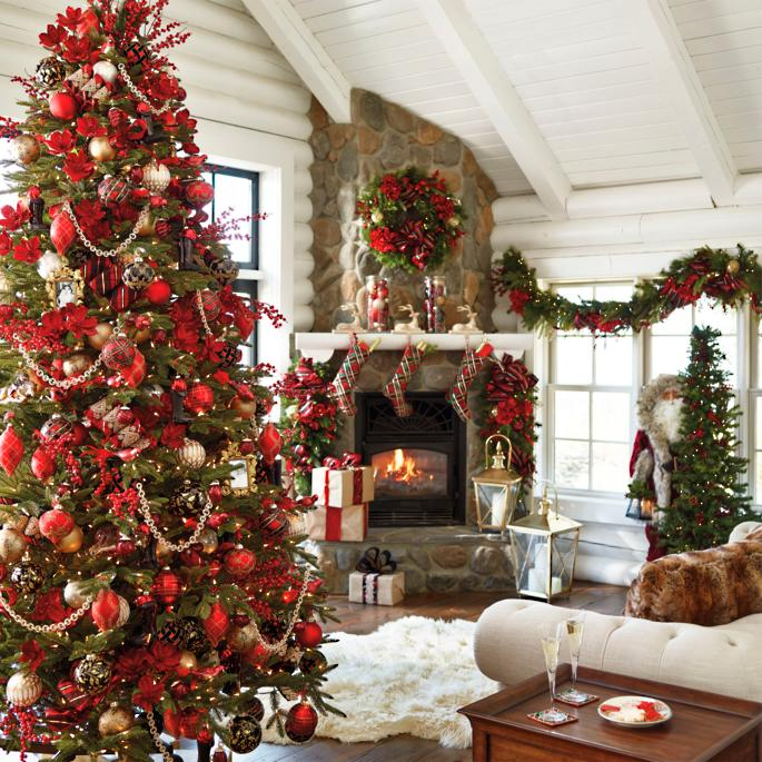 Highland Holiday Sequin Plaid Collection - Buy the Tree Look - Highland Holiday Sequin Plaid Collection - Buy The Tree Look Frontgate