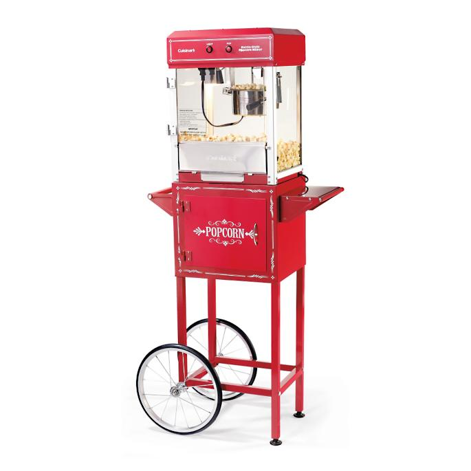 Cuisinart Theater Style Popcorn Maker And Trolley Frontgate