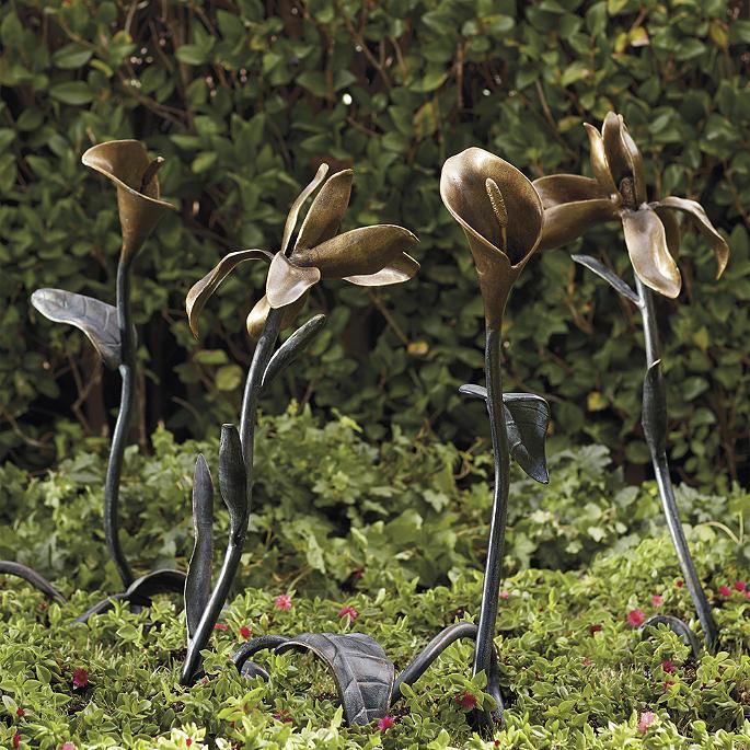 Floral Garden Sculptures Frontgate