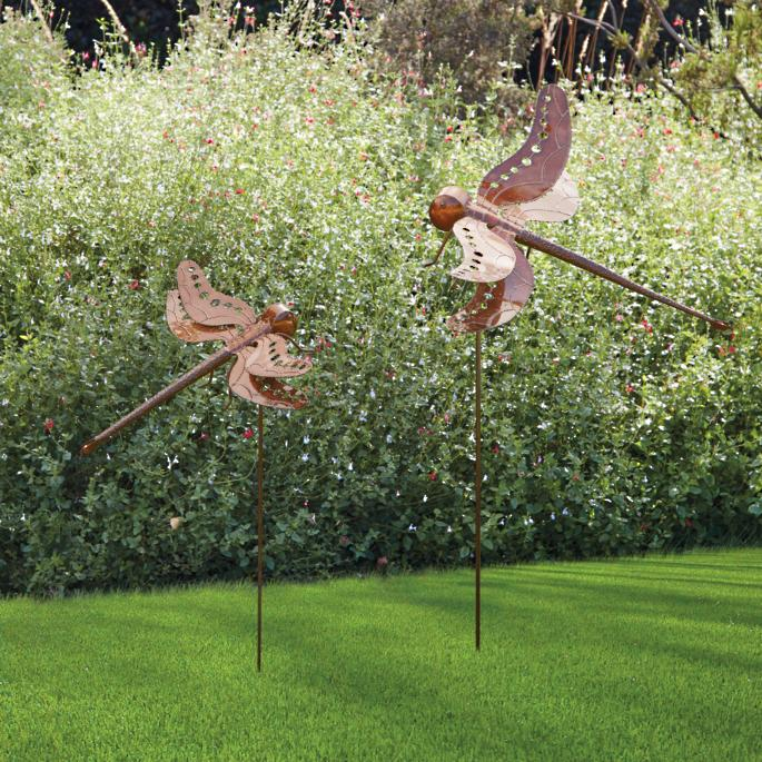 Dragonfly Wall And Garden Stake