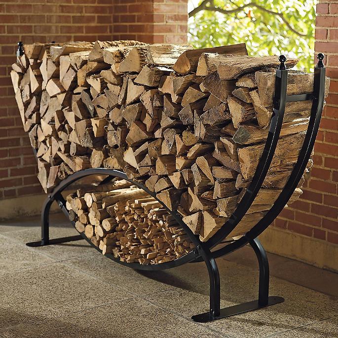 Frontgate Steel Log Racks Frontgate