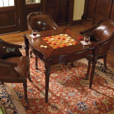 freeman game room furniture frontgate. Black Bedroom Furniture Sets. Home Design Ideas