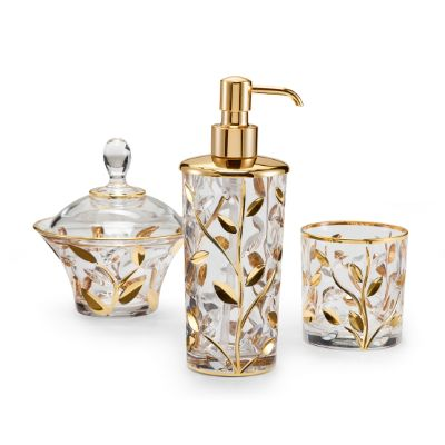 Labrazel Crystal Vine Bath Collection Frontgate