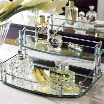 Belmont Two Tier Vanity Tray Frontgate