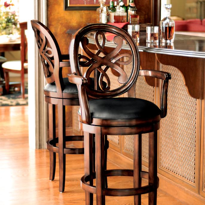 Cool Kristina Swivel Bar And Counter Stools Short Links Chair Design For Home Short Linksinfo