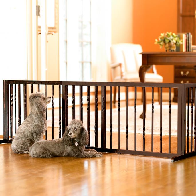 20 Inch Freestanding Barrier Frontgate
