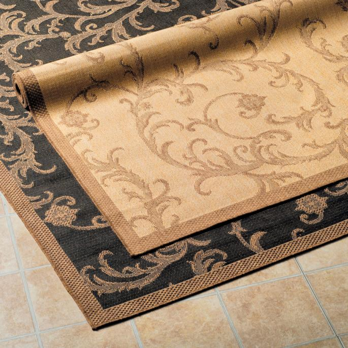 Acanthus All Weather Rugs Frontgate