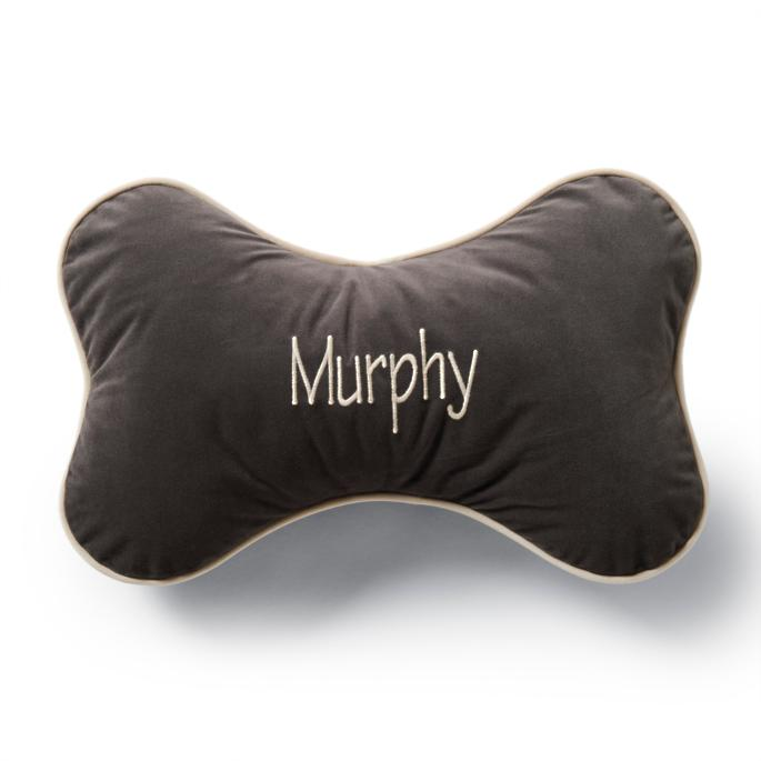 e932290d38af Personalized Decorative Baroque Pet Feeder. Bone Pillow