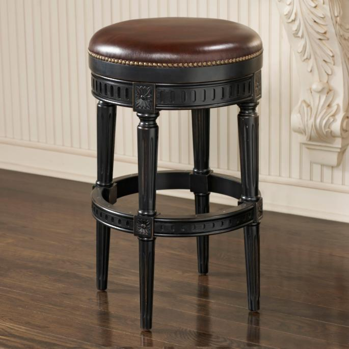 Manchester Swivel Backless Bar And Counter Stools Frontgate