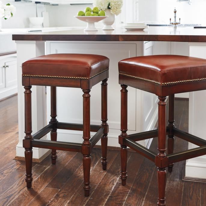 Raffles Backless Bar And Counter Stools Frontgate