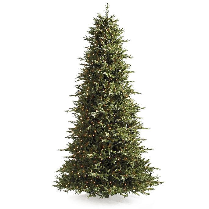 Nordmann Fir Pro Shape Artificial Christmas Tree Frontgate