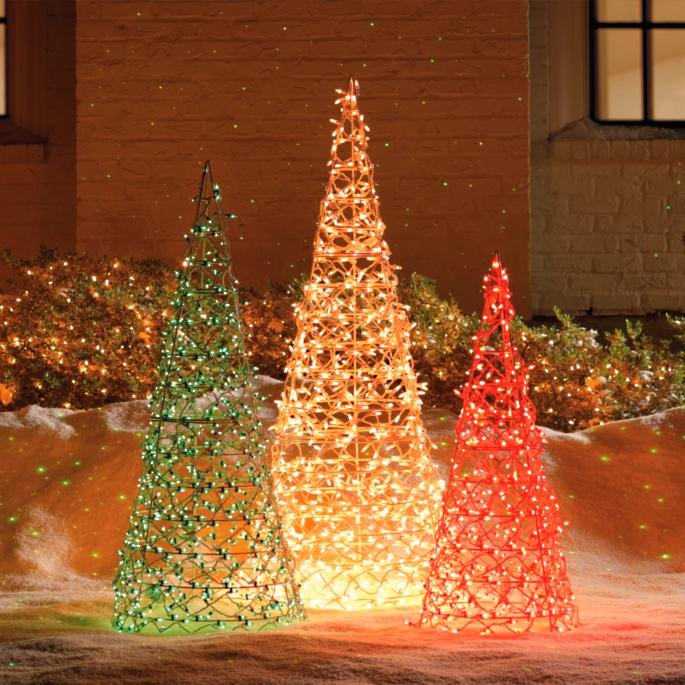 the best attitude 90a16 2e8e6 Lighted Cone Trees | Frontgate