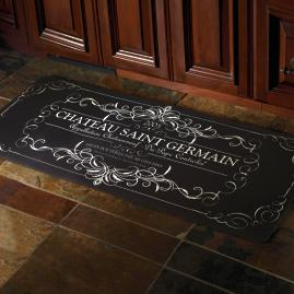 Victory Rooster Kitchen Mat   Frontgate