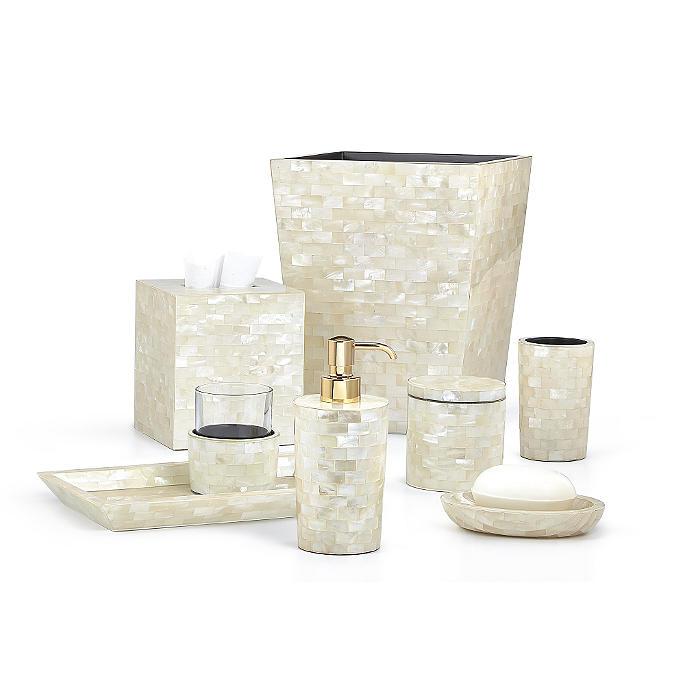 Labrazel White Agate Bath Accessories Frontgate
