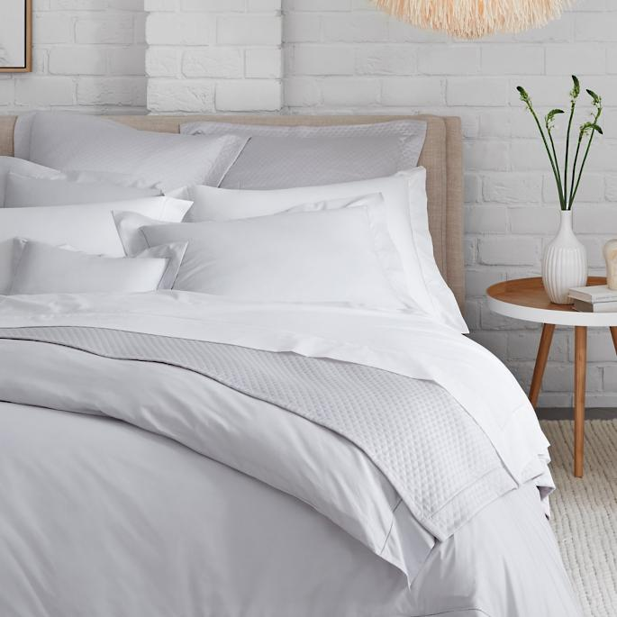 Sferra Simply Celeste Fitted Sheets