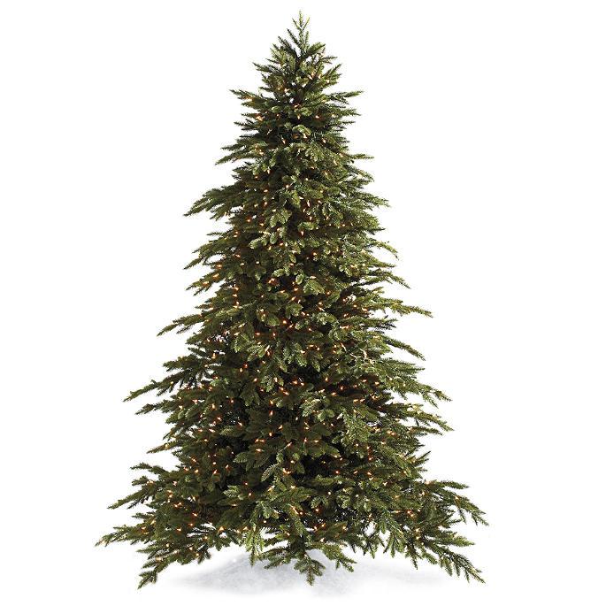 Downswept Douglas Christmas Tree with FlipTree Stand & Storage Bag - Downswept Douglas Artificial Christmas Tree Frontgate