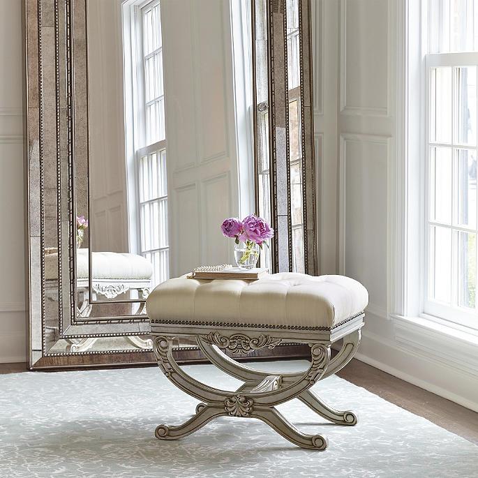 Enjoyable Lourdes Tufted Bench Dailytribune Chair Design For Home Dailytribuneorg