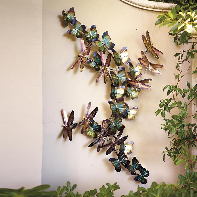Dragonflies And Butterflies Wall Art Frontgate