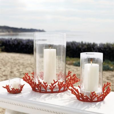 Kim Seybert Coral Beaded Collection Frontgate