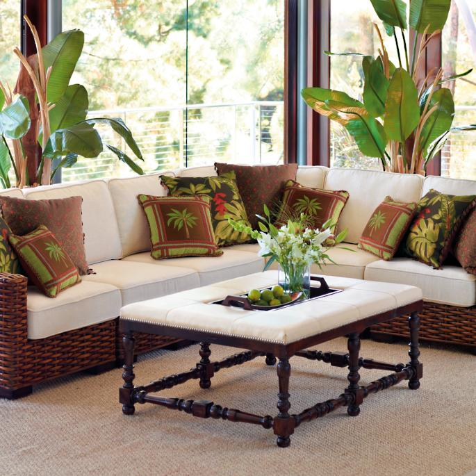 Bombay Woven Indoor Modular Seating Frontgate