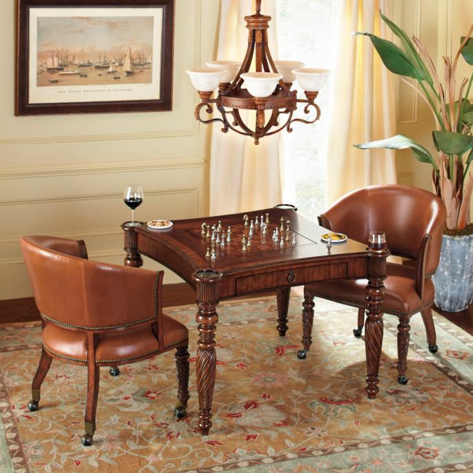 Mandalay Game Table With Chairs