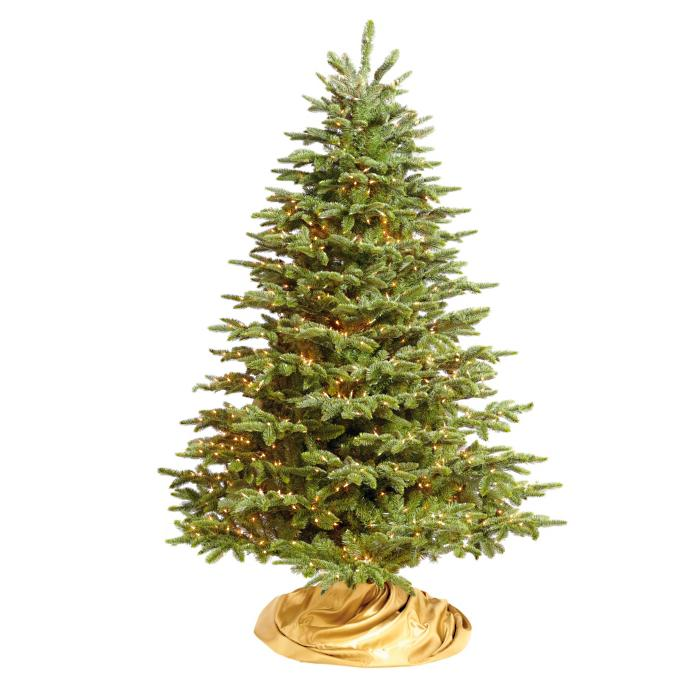 Grand Noble Christmas Tree with FlipTree Stand & Storage Bag - Grand Noble Artificial Christmas Tree Frontgate