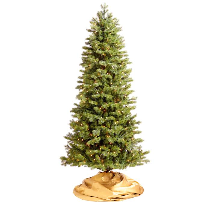 Mixed Pine Slim Artificial Christmas Tree