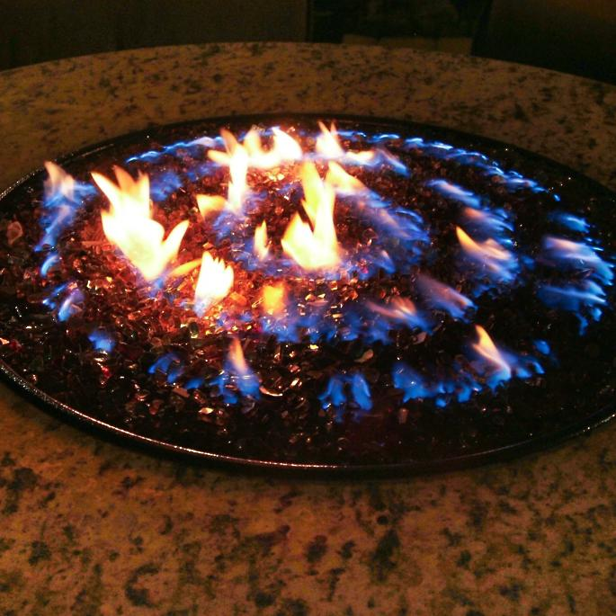 Oriflamme ™ Fire Table with Swirl Burner - Oriflamme Fire Tables Frontgate
