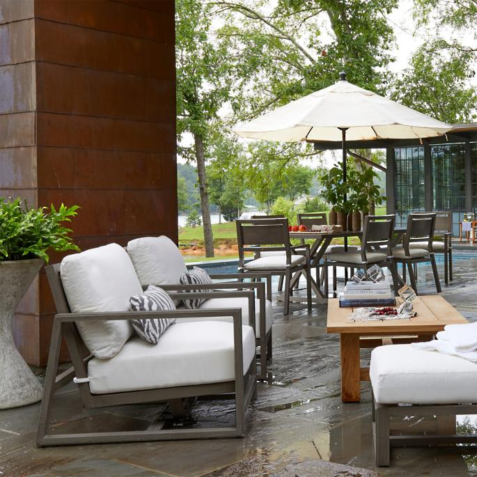 Avondale Aluminum Seating Collection By Summer Classics Frontgate