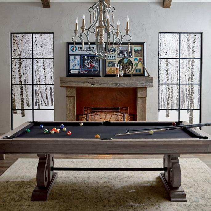 Barnstable Pool Table With Dining Top By Imperial Frontgate